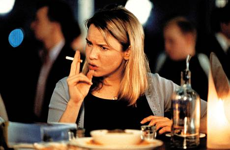 Renee Zellweger on Bridget Jones.