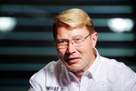 Mika Häkkinen ei ole viime vuosina juuri kilpa-auton rattiin koskenut.