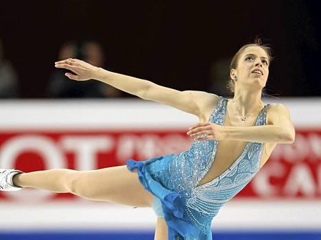 Carolina Kostner vuonna 2010.