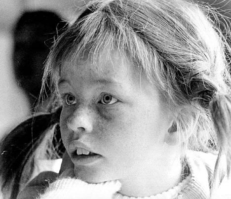 Inger Nilsson Peppi Pitkätossuna. Kuva on vuodelta 1969.