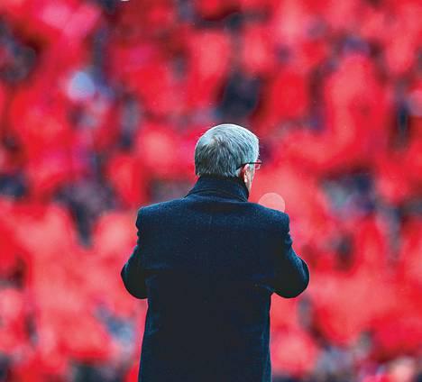 Ales Ferguson jätti jäähyväiset Manchester Unitedille täyden katsomon edessä 12. toukokuuta 2013.