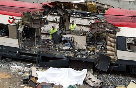 Juniin kohdistetuissa pommi-iskuissa kuoli 192 ihmistä maaliskuussa 2004.