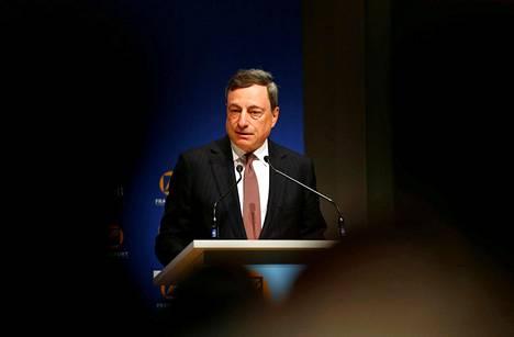 Euroopan keskuspankin pääjohtaja Mario Draghi osallistui toukokuun alussa Aasian kehityspankin vuosikokoukseen.