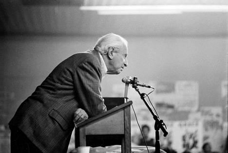 Herbert Marcuse (1898–1979) oli saksalais-amerikkalainen sosiologi ja filosofi.
