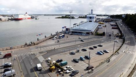 Helsingin Eteläsatama.