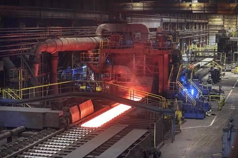 Torniossa sijaitseva ruostumattoman teräksen tehdas on Outokummun suurin.