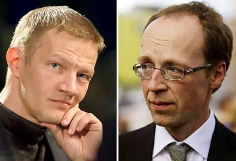 Matias Turkkila ja Jussi Halla-aho