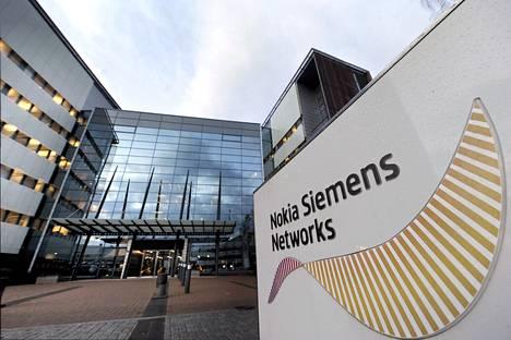 Nokia Siemens Networksin pääkonttori Espoossa.