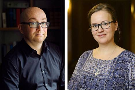Jarkko Tontti ja Anna-Riikka Carlson.