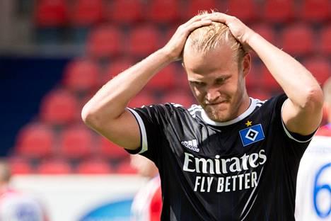 Joel Pohjanpalo on pelannut tehokkaasti Hamburger SV:n hyökkäyksessä.