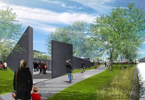 Daniel Libeskindin suunnittelemaan Valon polku -monumenttin on tarkoitus kirjata yli sadantuhannen natsien tuhoamisleireille lähetetyn ihmisen nimet.