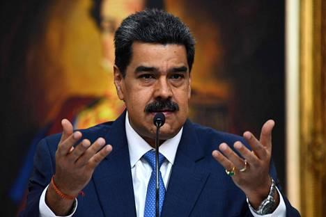 Venezuelan presidentti Nicolás Maduro.