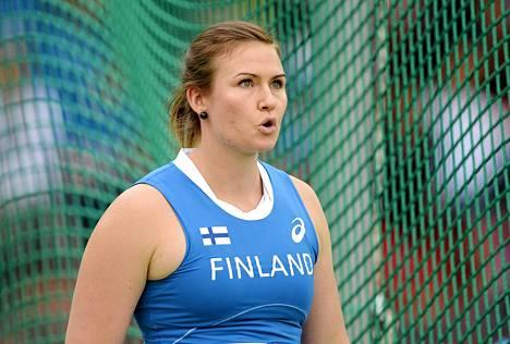 Sanna Kämäräinen sijoittui EM-finaalissa seitsemänneksi.