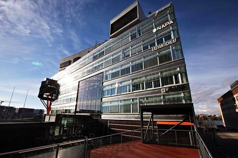 Kuntien Tieran toimipiste sijaitsee Helsingin Ruoholahdessa.