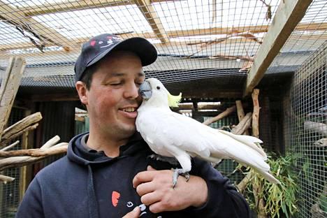 Greg Irons on perustanut Tasmanian villieläimiä pelastavan Bonorong Wildlife Sanctuaryn.