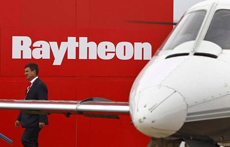 Raytheon oli esillä ilmailualan tapahtumassa Australiassa vuonna 2011.