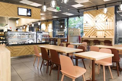 Lauantaibrunssin lisäksi Café Panoramasta saa lounasta ja aamupalaa.