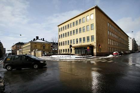 Vanha sotilassairaala. Arkistokuva vuodelta 2009.
