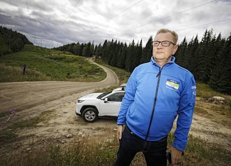 Jyväskylän MM-rallin apulaiskilpailunjohtaja Kari Nuutinen on vastannut vuosia myös kilpailun reitistä.