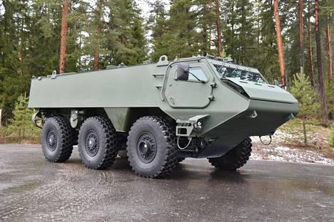 Patria 6x6 on vuonna 2018 esitelty miehistönkuljetusvaunu, joka muistuttaa ulkonäöltään hyvin paljon vanhoja Pasi-vaunuja.