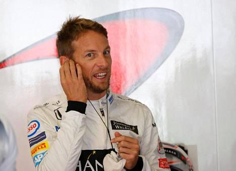 Jenson Button on ajanut ennen sunnuntaita 304 F1-kilpailua.
