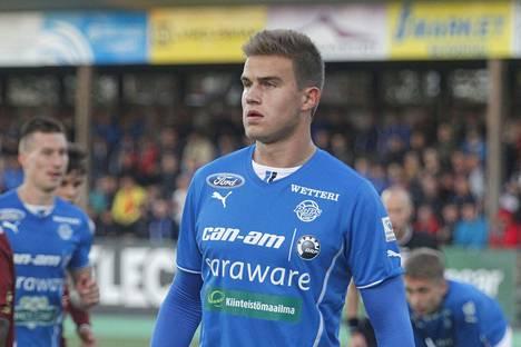 Eero Markkanen pelasi viime kaudella Veikkausliigaa RoPSin paidassa.