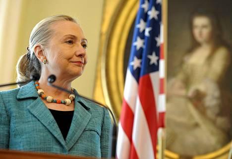 Ulkoministeri Hillary Clinton sanoi arvostavansa Suomen naisten hyväksi tekemää työtä.