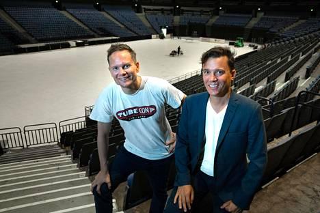 Tubeconin perustajat Risto Kuulasmaa ja Jaakko Kievari odottavat Hartwall-areenan täyttyvän viikonloppuna Youtube-faneista. Seuraavaksi Tubeconin tavoitteena on valloittaa Eurooppa.
