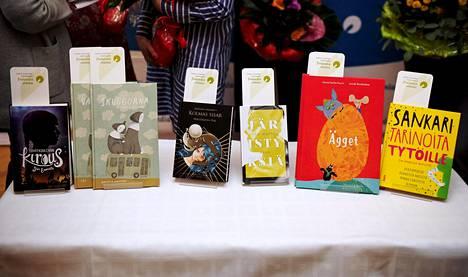 Tämän vuoden lasten- ja nuortenkirjallisuuden Finlandia-ehdokaskirjoissa korostuu seksuaalisuuden ja sukupuolen kirjo.
