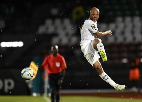 Andre Ayew ratkaisi Ghanan lohkovoiton.
