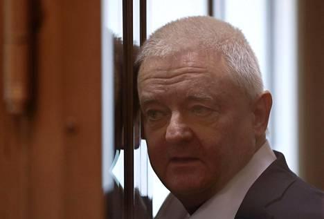 Norjalainen Frode Berg odotti tuomionlukua tiistaina moskovalaisen oikeusistuimen syytettyjen kopissa.