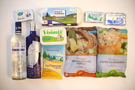 Suomalaisilla elintarvikkeilla on Venäjän markkinoilla hyvä maine. Kun suomalaisia tuotteita ei ole pakotteiden aikana saatu, niitä on kopioitu ja venäläisiä tuotteita on nimetty niin, että ne vaikuttaisivat suomalaisilta.