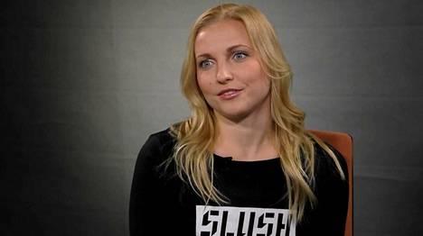 Slushin toimitusjohtaja Marianne Vikkula.
