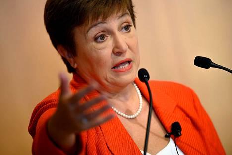 IMF:n pääjohtaja Kristalina Georgieva