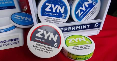Suomestakin saa pussinuuskaa muistuttavia tuotteita, mutta Zyn-tuotetta ei myydä Suomessa.