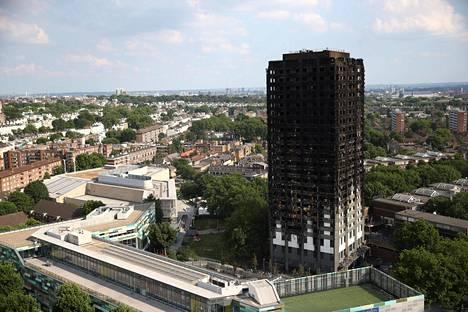 Grenfell Tower -niminen 24-kerroksisen tornitalo tuhoutui täysin tulipalossa Lontoossa viime viikolla.