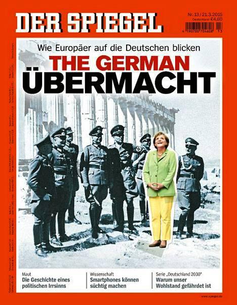 Der Spiegelin kansi lauantaina.