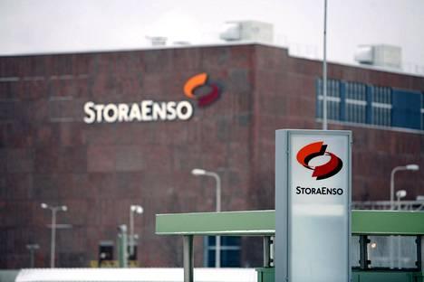Stora Enson tehdas Kemissä.