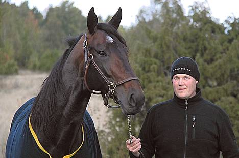 Reissuori Brad de Veluwe on päässyt Sipoosta jo Tukholman lähistölle, jossa se jaloitteli torstaina Marko Korven kanssa.