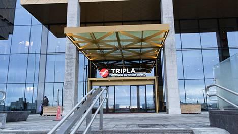 Sokos Hotel Tripla avautui tammikuussa 2020, mutta sulkeutui pian koronapandemian takia.