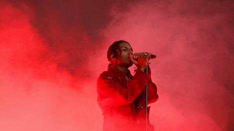 A$AP Rocky esiintyi Tampereen Blockfesteillä elokuussa 2016.