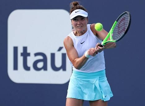 Elina Svitolina kiirehti Miamin masters-turnauksen jälkeen vauhdikkaasti takaisin Eurooppaan, ja syykin selvisi myöhemmin.