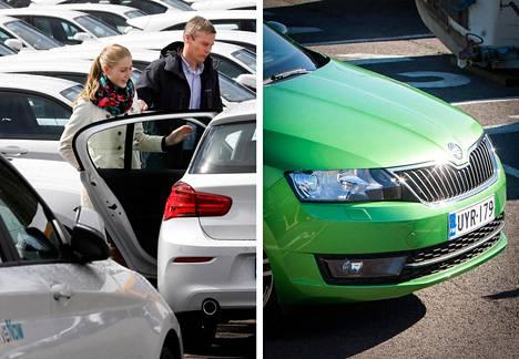 Suomessa myytiin viime vuonna 33500 uutta valkoista autoa. Vihreitä meni kaupaksi vain runsaat 1200.