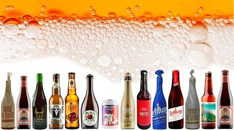 HS:n oluttestissä arvioitiin tällä kertaa Alkon valikoiman hapanoluita.