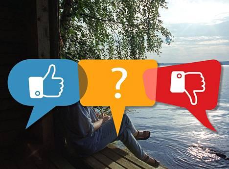 Facebookista ja muista sosiaalisen median palveluista on kehittynyt tiivis osa arkea. Sosiaalisesta medista luopunut voi tuntea itsensä joskus ulkopuoliseksi.