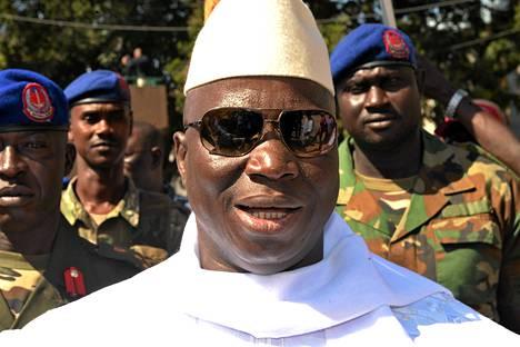 Gambian presidentti Yahya Jammeh.