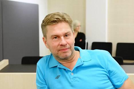 Liikemies Juha Kärkkäinen vuonna 2013.