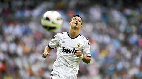 Real Madridin Cristiano Ronaldo ei tehnyt maalia.