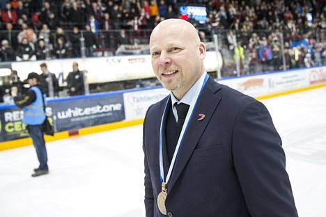 Marko Virtanen on TPS:n uusi päävalmentaja.