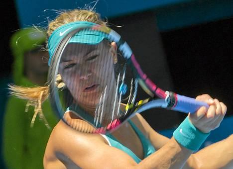 Eugenie Bouchard kilpailee ensi viikolla Australian avoimissa.